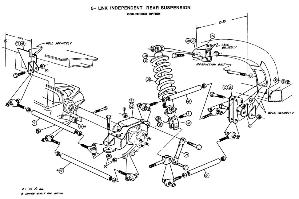 CC9ED likewise C3 Corvette Lower Control Arm Diagram together with Foxbody Mustang Info Specs furthermore Bmw Rear Ball Joints Diagram additionally . on 1981 corvette rear control arm diagram